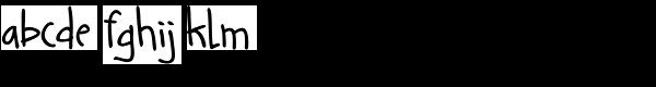 Guarapo Bold Font LOWERCASE