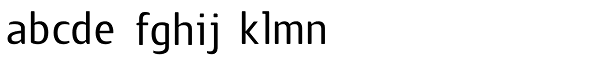 Guarda Sans Font LOWERCASE