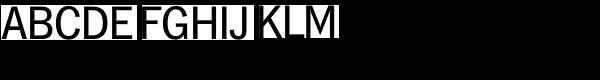 Hamburg TS-Regular Font UPPERCASE