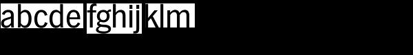 Hamburg TS-Regular Font LOWERCASE