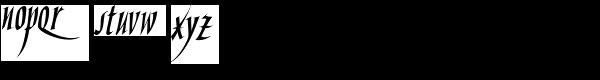 Hand Skript One Font LOWERCASE