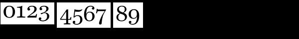 Harriet Text Regular Font OTHER CHARS