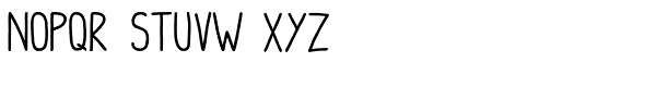 Hello I Like You Bold Font LOWERCASE