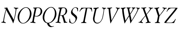 HoffmanFL-Oblique Font UPPERCASE