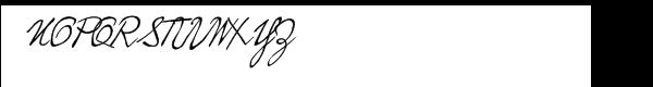 Hopper™ Edward Font UPPERCASE