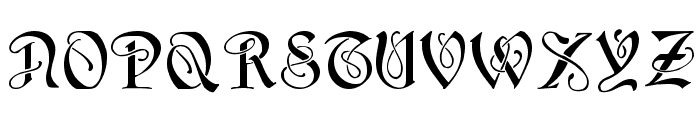 HorstCaps Medium Font UPPERCASE