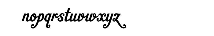 HT Gelateria OT Font LOWERCASE