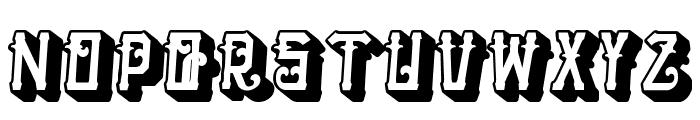 HTheNomad-Heavy Font UPPERCASE