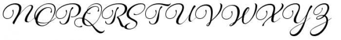 Hummingbird Font UPPERCASE