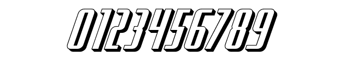 Hydro Squad 3D Font OTHER CHARS