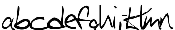 Iglook Font LOWERCASE