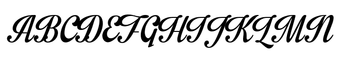 Impregnable Personal Use Only Font UPPERCASE