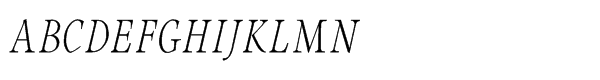 Integrity JY Pro Italic Font UPPERCASE