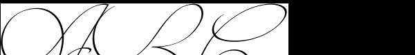 Intima Script One Font UPPERCASE