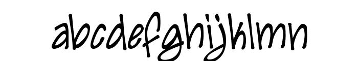 Irezumi Font LOWERCASE