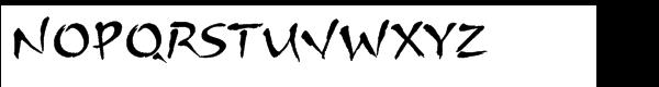 ITC Arnova™ Std Regular Font UPPERCASE