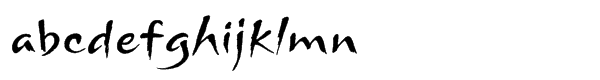 ITC Arnova™ Std Regular Font LOWERCASE