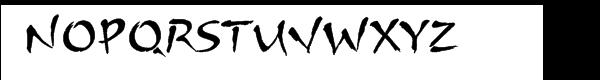 ITC Arnova™ Font UPPERCASE