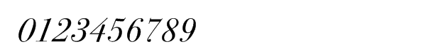 ITC Bodoni™ Seventy-Two Book Italic Swash Font OTHER CHARS