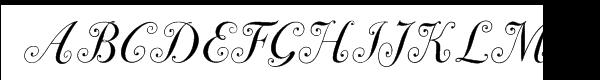 ITC Bodoni™ Seventy-Two Book Italic Swash Font UPPERCASE