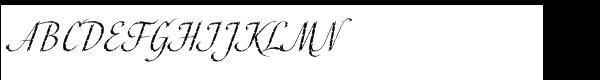 ITC Cali™ Std Regular Font UPPERCASE