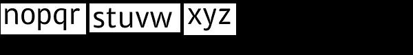 ITC Chino Std Font LOWERCASE