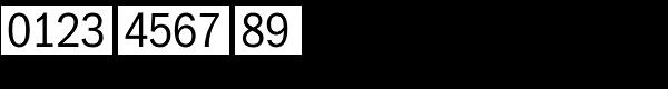 ITC Franklin Std Narrow Light Font OTHER CHARS