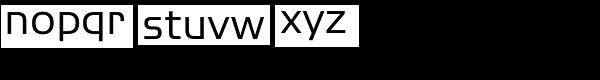ITC Handel Gothic Com Regular Font LOWERCASE