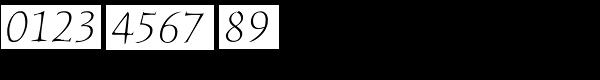ITC Humana Serif Pro Light Italic Font OTHER CHARS