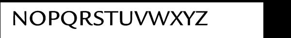ITC Legacy® Sans Medium SC Font UPPERCASE
