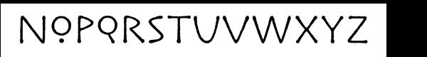 ITC Lintball™ Font UPPERCASE