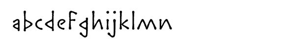 ITC Lintball™ Font LOWERCASE