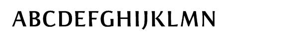 ITC Resavska™ Sans Bold Font UPPERCASE