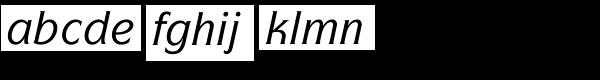 ITC Symbol Std Medium Italic Font LOWERCASE