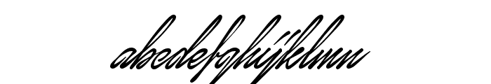 January Script Personal Use Font LOWERCASE