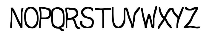 JD Daring Font UPPERCASE