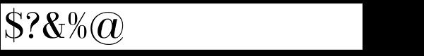 Jeles Regular Font OTHER CHARS