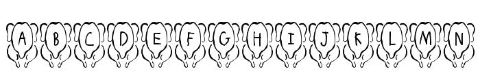 JLR White Meat Font LOWERCASE