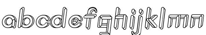 JohanVaaler BoldItalic Font LOWERCASE