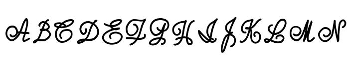joxigraf Font UPPERCASE