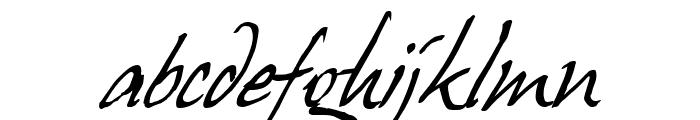 Juergen Italic Font LOWERCASE