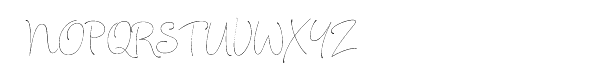 Julietrose Font UPPERCASE