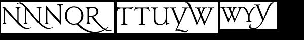 Jupiter Alts Font LOWERCASE