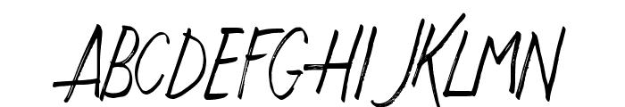 JustWriteDT Font UPPERCASE