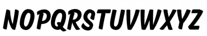 Kansas Casual SemiBold Font UPPERCASE