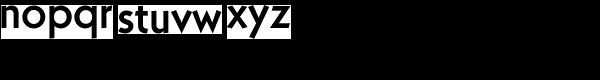 Kaapeli Medium Font LOWERCASE