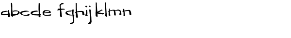 Kahiki Font LOWERCASE