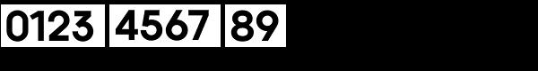 Kaleko 105 Bold Font OTHER CHARS