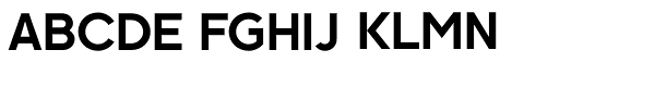 Kaleko 105 Bold Font UPPERCASE