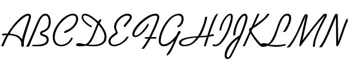 KaufmannStd Font UPPERCASE
